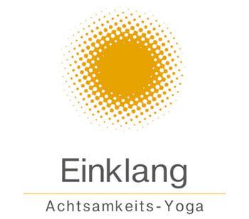 Logo Einklang Achtsamkeits-Yoga mit Sonne